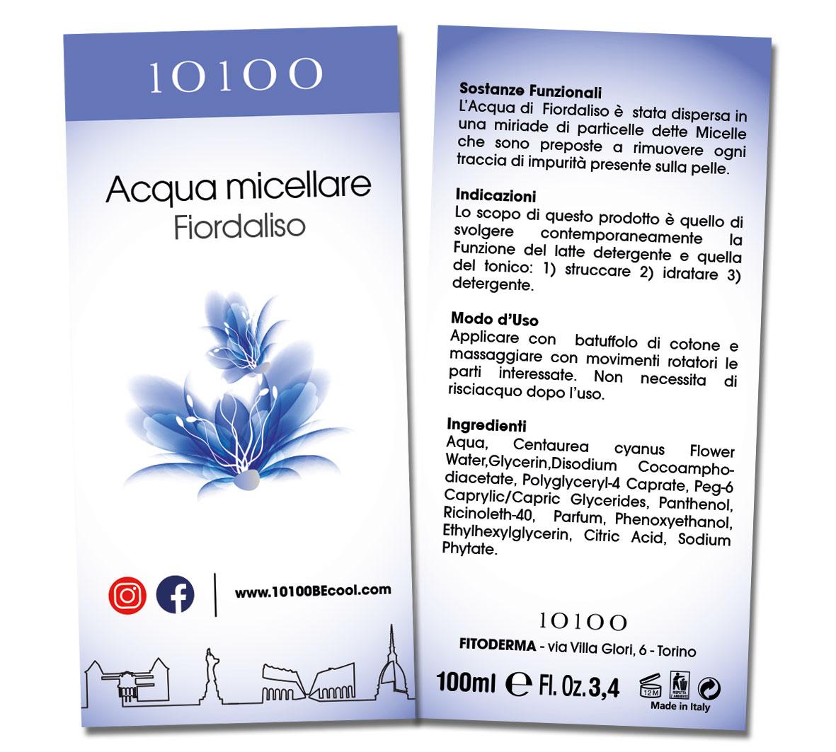 Acqua Micellare Fiordaliso